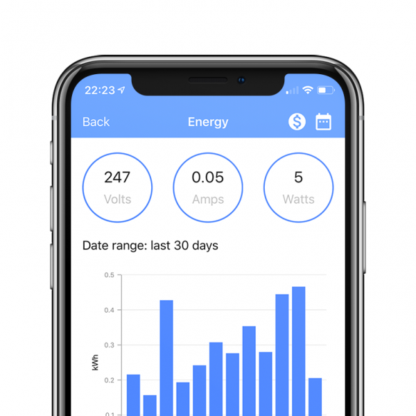 WIFIPLUG APP iOS & Android - Energy Management