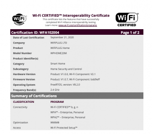 WP2_certification
